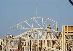 Taunton Crane for Rent Truss Lifting