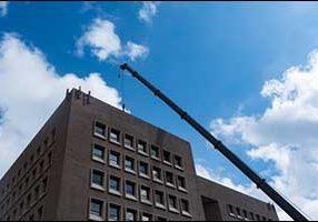 Wareham Crane Operator HVAC Install